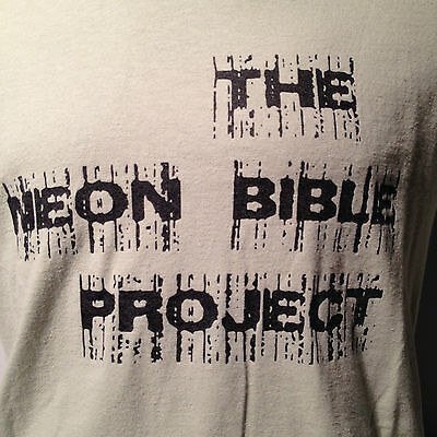 2010 Neon Bible Project Summer Tour T Shirt Arcade Fire Band Theatre Play MD USA