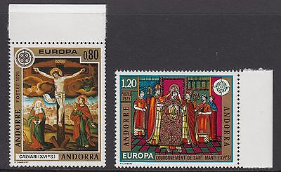 ANDORRA (French) : 1975 Europa  set SG F262-3 never-hinged  mint