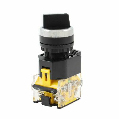 AC 380V 10A 1NO+NC 4 Terminal 3 Position Selector Self-Lock Rotary Switch