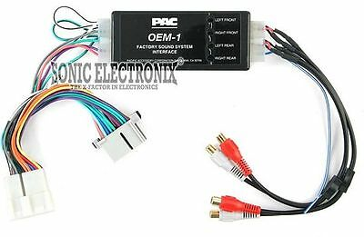 PAC Amp Interface Kit for Select 1998-2002 GM & Chevrolet Vehicles   AOEM-GM21A