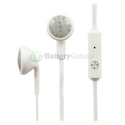 25 Headphone Earphone Headset Earbuds for Apple iPod Nano Touch 1 2 3 4 5 6 7