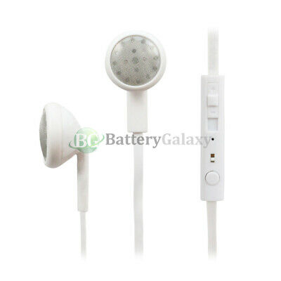 100 Headphone Earphone Headset Earbuds for Apple iPod Nano Touch 1 2 3 4 5 6 7