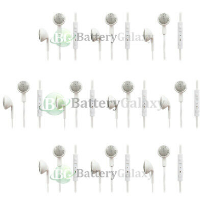 10 Headphone Earphone Headset Handsfree for Samsung Galaxy Note 1 2 3 4 5 7 8