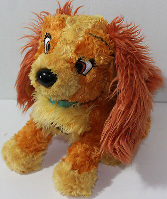 Disney PARKS Exclusive LADY FROM LADY AND THE TRAMP Stuffed Plush SOFT TOY Dog