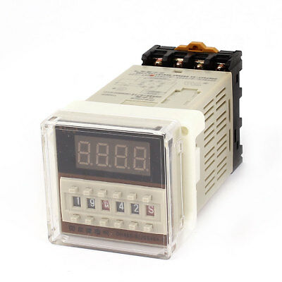 DH48S-S AC/DC 24V 0.1S-99H 8-Pin Adjustable Time Plastic Panel Delay Timer Relay