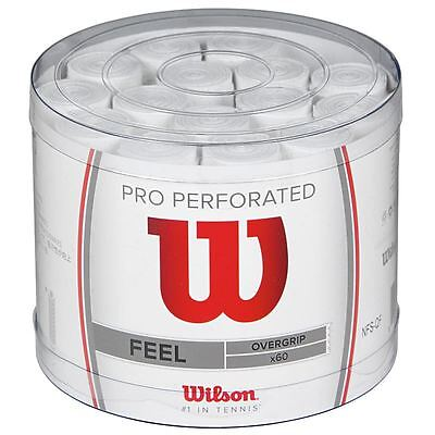 Wilson Pro Overgrip Perforated 60 Tub (white)