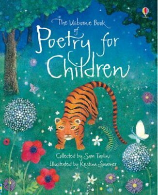 The Usborne Book of Poetry for Children (Usborne Poetr... by Sam Taplin Hardback