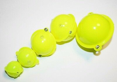 Buldo Round Yellow Bubble Floats - 5 Sizes available