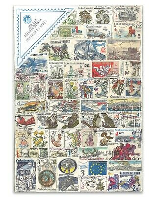 200 Czechoslovakia Mixed Stamps-Used Off Paper