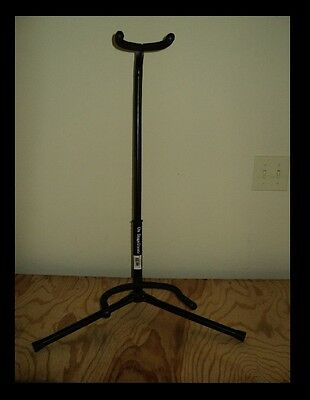 On Stage XCG4 Black Tripod Guitar Stand, Single Stand by OnStage FREE SHIPPING