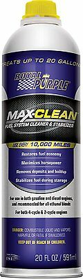 Royal Purple 11722 Max-Clean Fuel System Cleaner and Stabilizer - 20 oz.