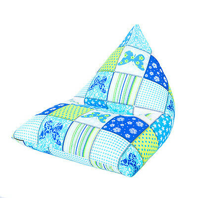 Butterflies Large Children's Kids Pyramid Bean Bag Chair Gaming Beanbag Gamer