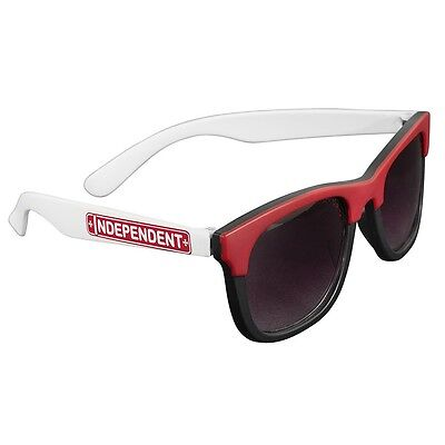 Independent Trucks LOST BOYS SQUARE Skateboard Sunglasses BLACK/RED/WHITE