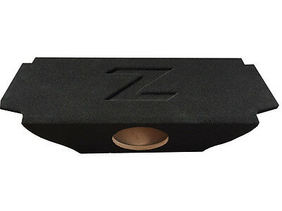 "ZEnclosures 1-10"" Subwoofer Sub Box W/ RECESSED Z LOGO for NISSAN 370Z COUPE"