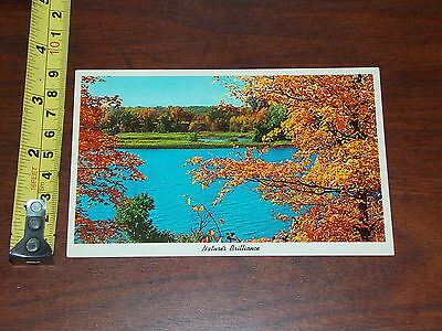 Postcard Old Natures Brilliance Scenic View Season Of Fall