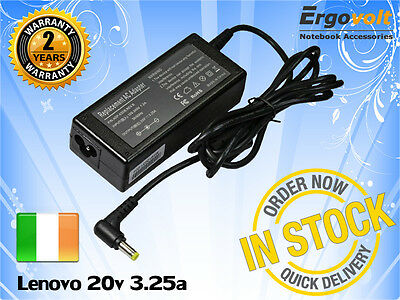 For Lenovo IdeaPad 65W Laptop Charger 20v 3.25a Ac Adapter Power Supply