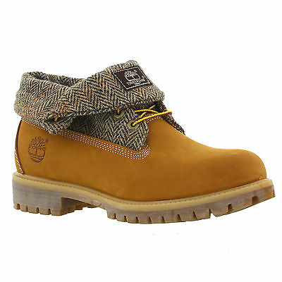 Timberland Classic Icon Roll Top Mens Wheat Nubuck Leather Boots