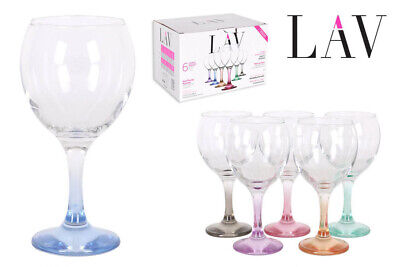 """Bohemia Crystal """"Michelle"""" Stemless Crystal Wine Glasses (box of 6) 16.9 ounces"""