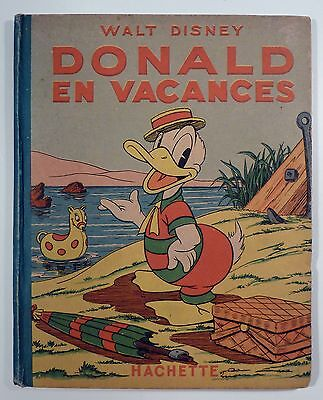 Donald en vacances Walt Disney Ed. Hachette EO BE