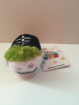 """disney usa authentic nightmare before christmas barrel tsum 3 1/2"""" new with tags"""