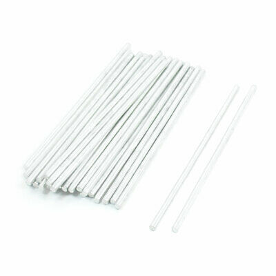 30Pcs Toy Car Airplane Parts Stainless Steel Round Rod Bar 66mm x 2mm