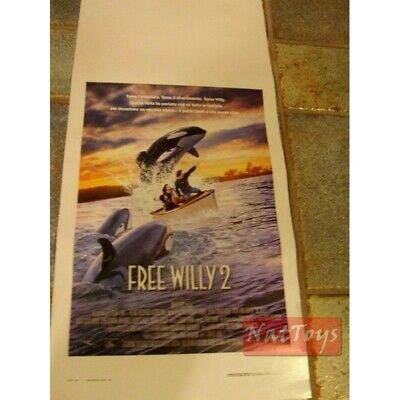 Locandina Film FREE WILLY 2  Original Poster Cinema