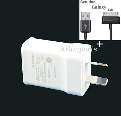 NEW Samsung Galaxy Tab s 2 3 P3100 N8010 7.0 pro 10.1 Tablet Wall Charger+Cable