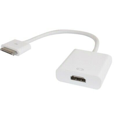 iPad 2/3 1080P Dock Connector to HDMI Adapter Cable for iPhone 4/4S HDTV 30pin