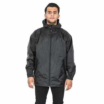 Trespass Cahone Mens Reflective Waterproof Jacket Lightweight Windproof Raincoat