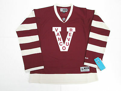 Vancouver Canucks Women Ladies Millionaires Reebok Hockey Jersey
