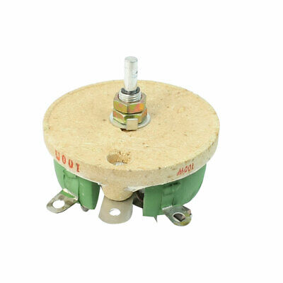 Motor Control 100W 100 Ohm C Shaped Ceramic Variable Resistor