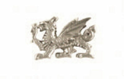 A.E. Williams Fine Brittish Pewter Lapel Hat Pin Welsh Dragon #35600
