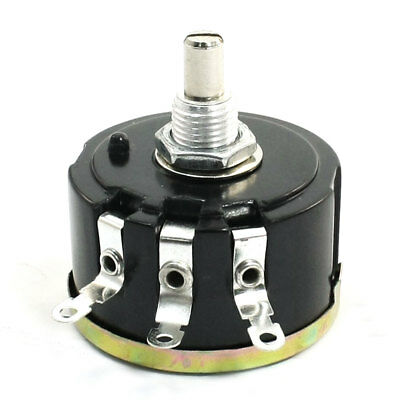 WX050 10K ohm Round Shaft Wirewound Variable Potentiometer