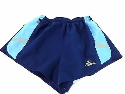 a1463e33b ADIDAS WOMENS NAVY & Light Blue Athletic Running Shorts Size M ...