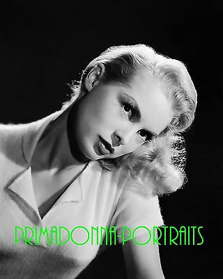 Anne Francis 8x10 Lab Photo 1950s Adorable Glamour Sweater Publicity