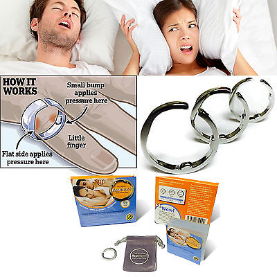 Acusnore Anti Snore Ring - The Original & Most Effective Snoring Solution Device