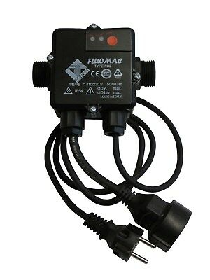 Fluomac FC2 with Cables The Original ! Pump Control Pressure Switch