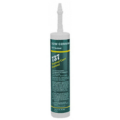 DOW CORNING 737 CLEAR 10.1 CTG Gasketing Paste 10.1 Oz Cartridge Product Color