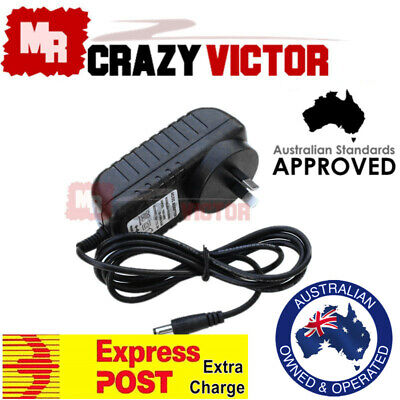 SAA APPROVAL AC Adapter For Boss RC-30 RC-50 Loop Station Charger Power Supply