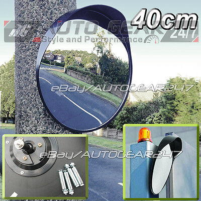 Driveway Garage Outdoor Gate Road Shop Security 40cm Blind Spot Convex Mirror