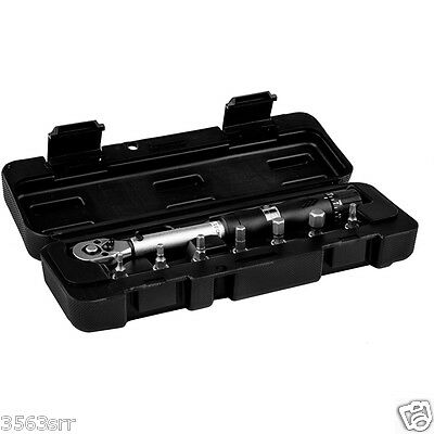 M:Part 7pc Torque Wrench ideal for Bicycle Assembly (3 to 15 Nm Range)