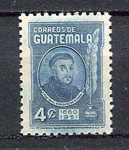 37292) GUATEMALA 1959 MNH** Rivera Type of 1945 - 1v