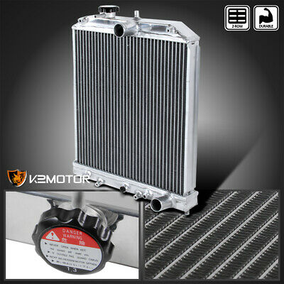 For 92-00 Civic Del Sol A/T Automatic Transmission 2 Row Aluminum Radiator