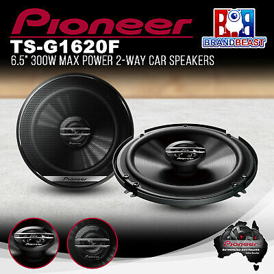 "Pioneer TS-G1620F G Series 300w 6.5"" 2 Way Coaxial Car Audio Speakers TSG1620F"