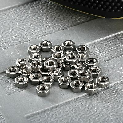 100Pcs Dia 3mm Stainless Steel M3 Hexagon Screw Nut Bolt Lock Cap Wholesale Lots