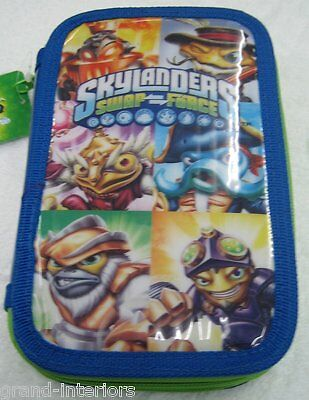 Skylanders Swap Force Filled Pencil Case Childrens Boys Girls School Stationary