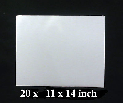 20 Artist Canvas Panels 11' x 14' Canvas Boards Acrylic Board Oil Painting Board