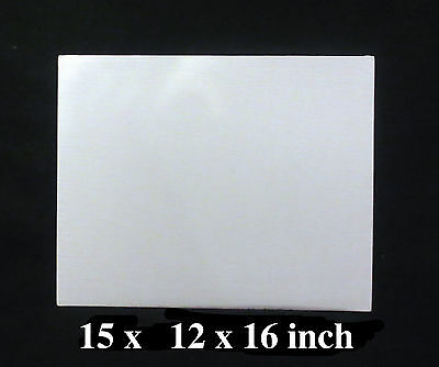 15 Artist Canvas Panels 12' x 16' Canvas Boards Acrylic Board Oil Painting Board