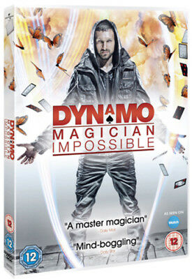 Dynamo - Magician Impossible: Series 1 DVD (2011) Ian Brown cert 12 ***NEW***