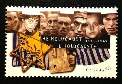 Canada #1590 MNH, The Holocaust Stamp 1995